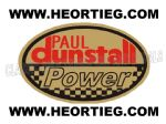 Paul Dunstall Power Tank and Fairing Transfer Decal DDUN13-5